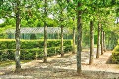Frankrijk, het Marie Antoinette-landgoed in parc van de Pa van Versailles Stock Afbeelding