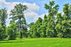 Frankrijk, het Marie Antoinette-landgoed in parc van de Pa van Versailles Stock Foto