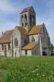 Frankrijk, het schilderachtige dorp van Clery Engelse Vexin Royalty-vrije Stock Foto
