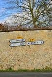 Frankrijk, het schilderachtige dorp van het Dorp van Wy dit Joli Stock Fotografie
