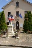 Frankrijk, het schilderachtige dorp van Les Alluets le roi Royalty-vrije Stock Afbeelding