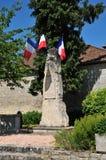 Frankrijk, het schilderachtige dorp van Nucourt Royalty-vrije Stock Foto