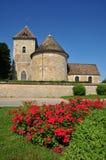 Frankrijk, het schilderachtige dorp van Thoiry Stock Foto