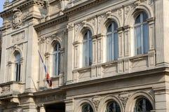 Frankrijk, het stadhuis van Meulan Royalty-vrije Stock Afbeelding
