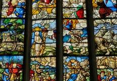 Frankrijk, historische kerk van Buchy royalty-vrije stock foto