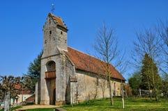 Frankrijk, historische kerk van Gemage in Normandie stock foto