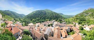 Frankrijk - La-roque-Sainte-Margriet Stock Foto's