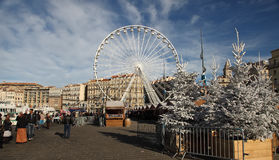 Frankrijk, Marseille - November 19, 2015: Traditionele Kerstmis ma Royalty-vrije Stock Foto's