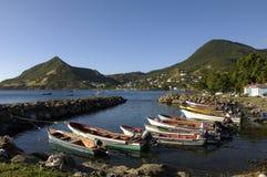 Frankrijk, Martinique, Tengere Anse Stock Fotografie