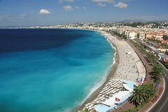 Frankrijk, Nice, Côte D Azur Stock Foto