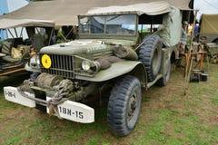 Frankrijk, oude militaire uitrusting van de tweede wereldoorlog Stock Afbeeldingen