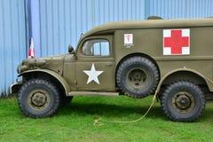 Frankrijk, oude militaire uitrusting van de tweede wereldoorlog Stock Foto's