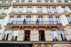 Frankrijk Parijs die Overladen Architectuur bouwen Royalty-vrije Stock Fotografie