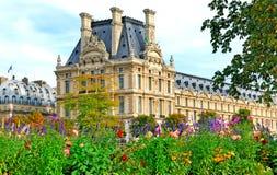Frankrijk, Parijs: Het Paleis van het Louvre Stock Afbeelding