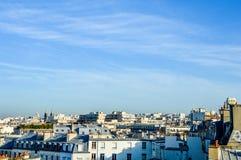 Frankrijk - Parijs - horizon met daken Stock Foto's