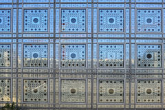 Frankrijk; Parijs: LIMA; wereld Arabier institut Royalty-vrije Stock Fotografie