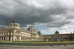 Frankrijk. Parijs. Louvre. stock afbeeldingen