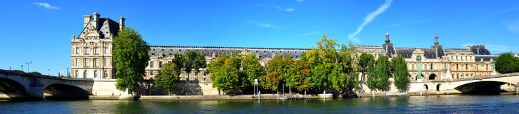 Frankrijk, Parijs: panorama Royalty-vrije Stock Foto