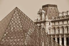 Frankrijk, Parijs, Tuileries-Tuin, Jardin des Tuileries, Louvre AR Royalty-vrije Stock Afbeelding