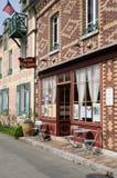 Frankrijk, schilderachtig dorp van Giverny in Normandie Stock Foto