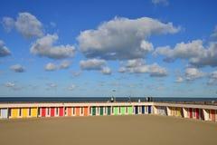 Frankrijk, schilderachtige stad van Le Touquet in Nord Pas-de-Calais stock foto's
