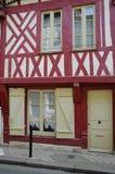 Frankrijk, stad van Honfleur in Normandie royalty-vrije stock foto's
