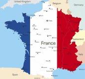 Frankrike vektor illustrationer