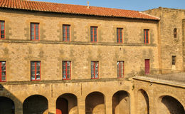 Frankrike Bouche du Rhone, stad av Salon de Provence Royaltyfri Bild