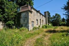 Frankrike byn av Herouville i Val D Oise Arkivfoto