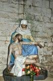 Frankrike Cadouin abbotskloster i Dordogne royaltyfri foto