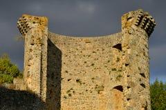 Frankrike den pittoreska byn av Chevreuse royaltyfri fotografi