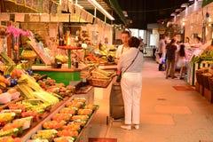 Frankrike den pittoreska marknaden av Versailles Arkivfoton
