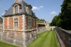 Frankrike den pittoreska staden av Anet Royaltyfri Fotografi