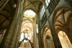 Frankrike den pittoreska staden av Rouen i Normandie Arkivfoto