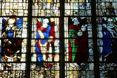 Frankrike den pittoreska staden av Rouen i Normandie Arkivbild