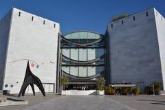 Frankrike franska riviera, trevlig stad, museet av modern konst Fotografering för Bildbyråer