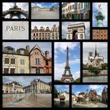 Frankrike gränsmärken Fotografering för Bildbyråer