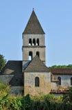 Frankrike helgonLeon surVezere kyrka i Perigord royaltyfria foton