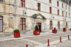 Frankrike pittoresk stad av Brantome Fotografering för Bildbyråer