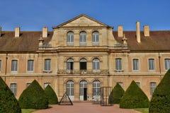 Frankrike pittoresk stad av Cluny i Saone och Loire Royaltyfri Fotografi