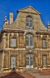 Frankrike pittoresk stad av Cluny i Saone och Loire Arkivfoto