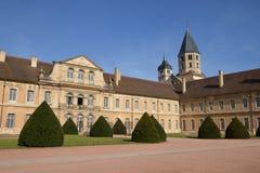 Frankrike pittoresk stad av Cluny i Saone och Loire Royaltyfri Foto
