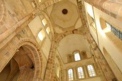 Frankrike pittoresk stad av Cluny i Saone och Loire Royaltyfria Bilder