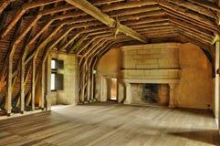 Frankrike renässansslott av Puyguilhem i Dordogne Fotografering för Bildbyråer