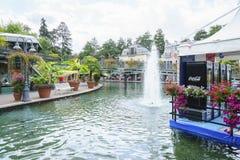 Frankrike themed område - Europa parkerar i rost, Tyskland Royaltyfria Foton