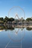 Frankrike trevlig miroird'eau Royaltyfria Foton