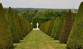 Frankrike Versailles slottträdgård 1 Arkivbild