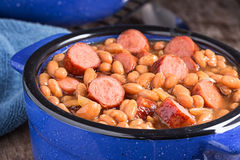 Franks and Beans Royalty Free Stock Photo