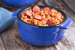 Franks and Beans Stock Images