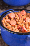 Franks and Beans Royalty Free Stock Images